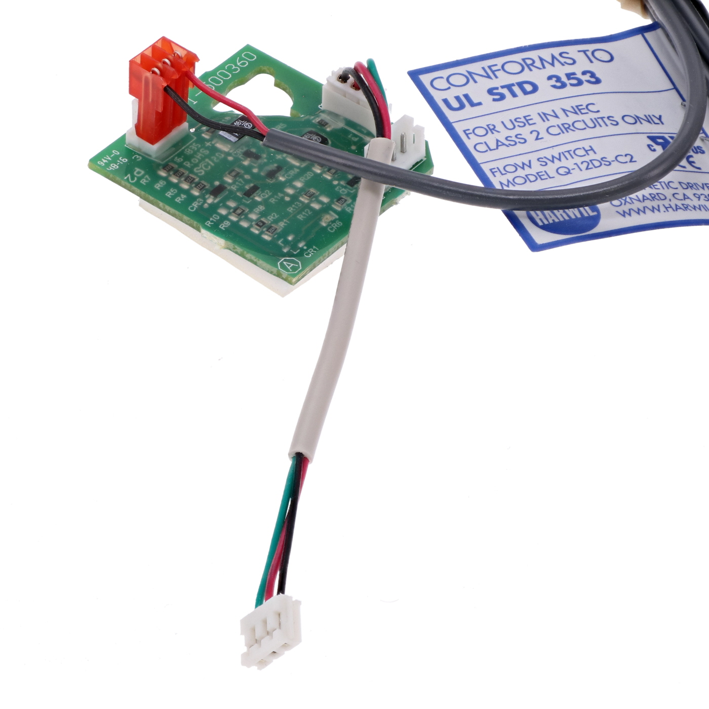 Flow switch replacement kit for Gecko Control Systems