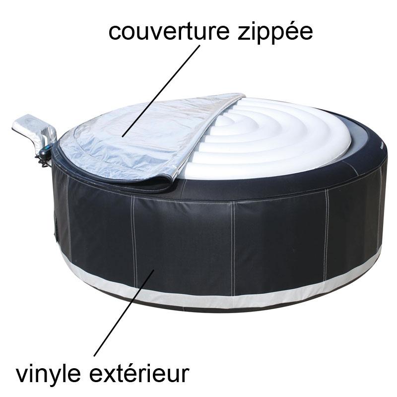 Vinyl extérieur + couverture zippée M-051LS / B15