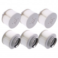 Pack of 6 Filters for MSPA Inflatable Spa + notch fixings