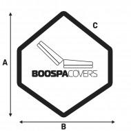 Spa cover 240 X 240 X 95 Forme 8 - 1008 - Premium