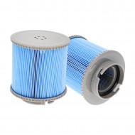 Lot de 2 filtres pour spa gonflable MSPA - BlueWater®