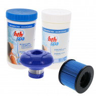 Kit de demarrage pour spa gonflable Aquaspa - BlueWater Filtration