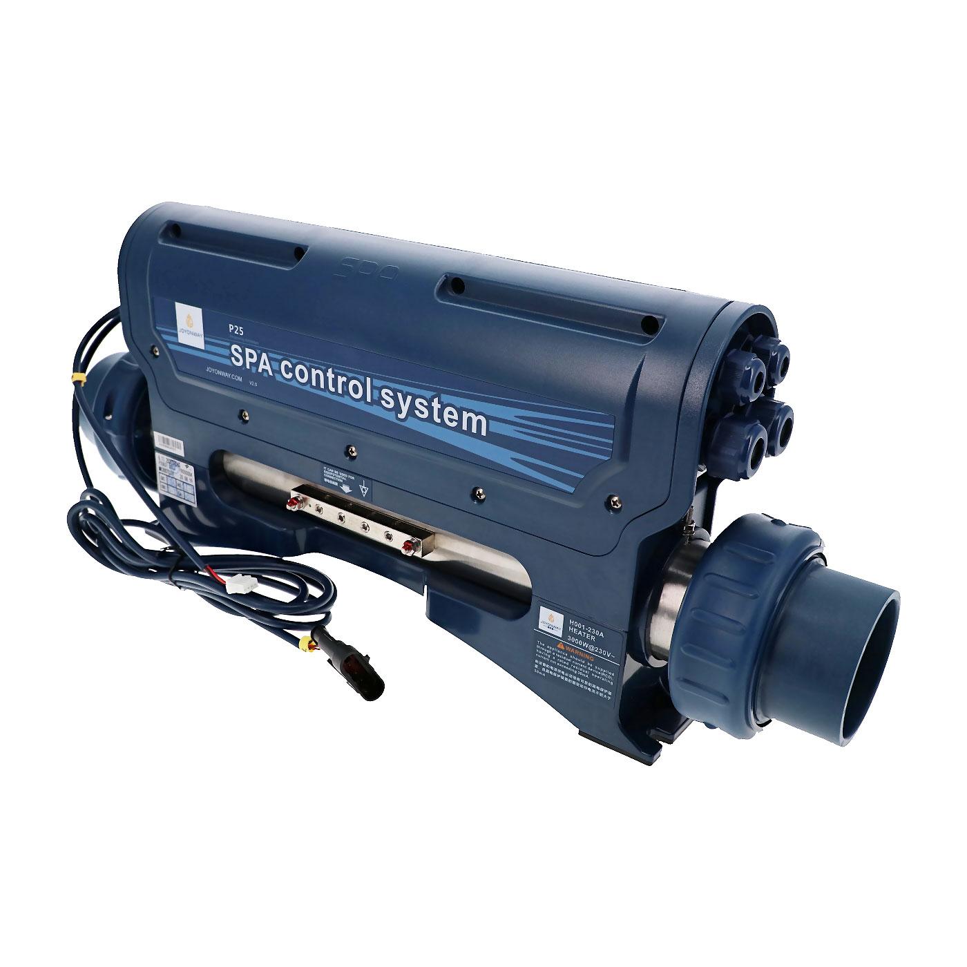 Boitier de contrôle P25B37 avec réchauffeur pour spa
