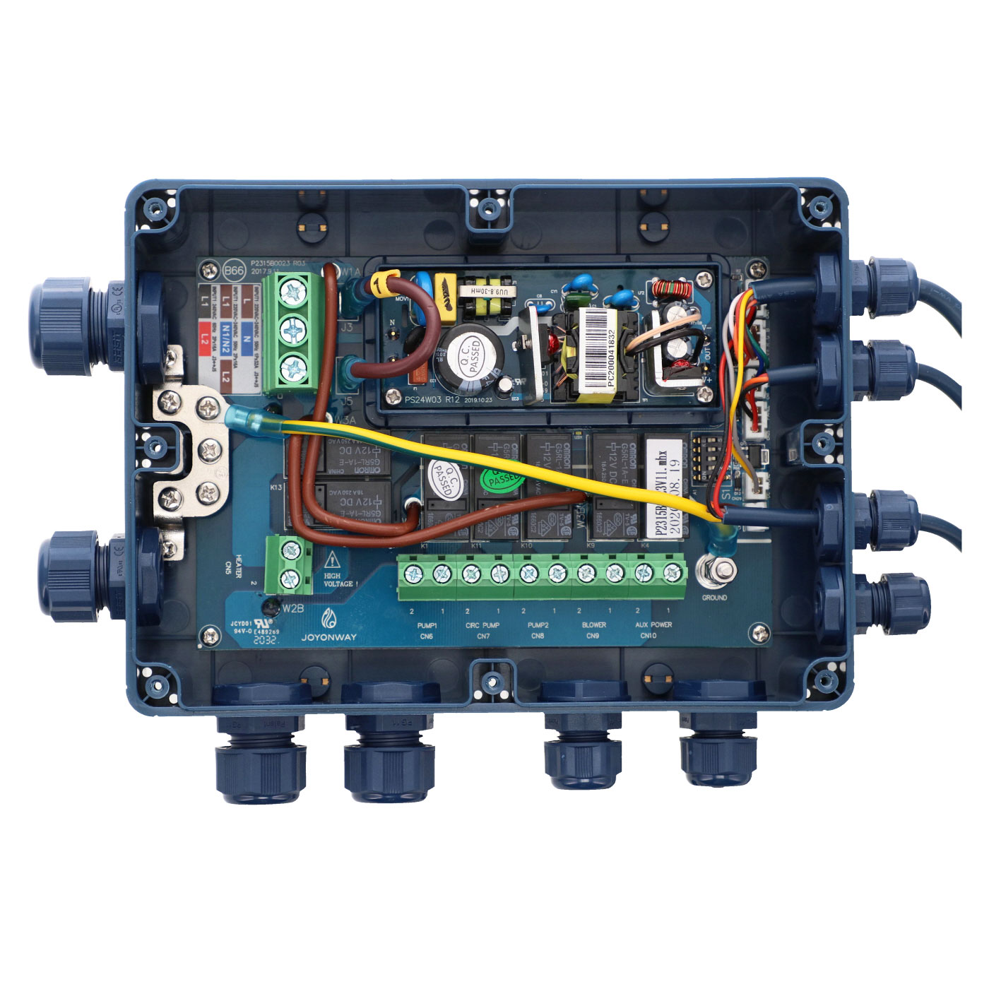 Boitier de contrôle P15B66
