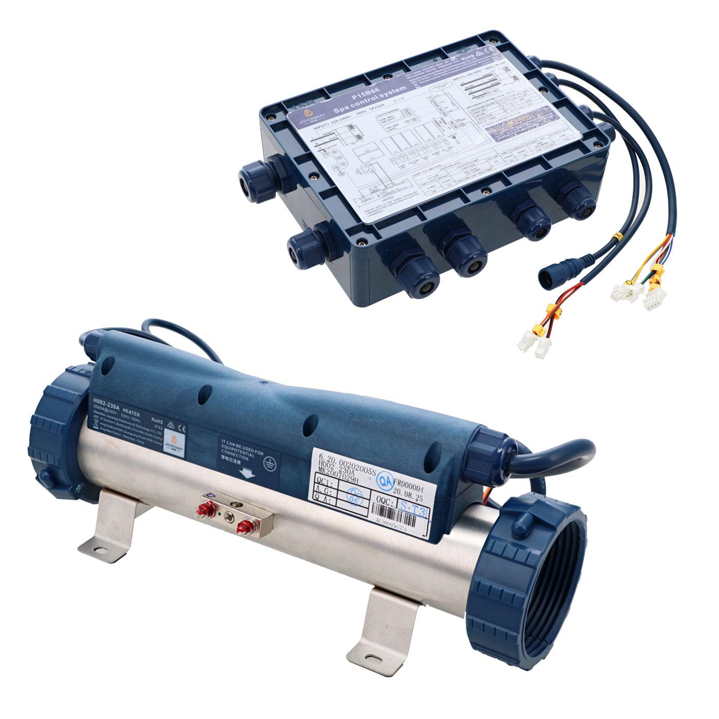 Boitier de contrôle P15B66 avec réchauffeur pour spa