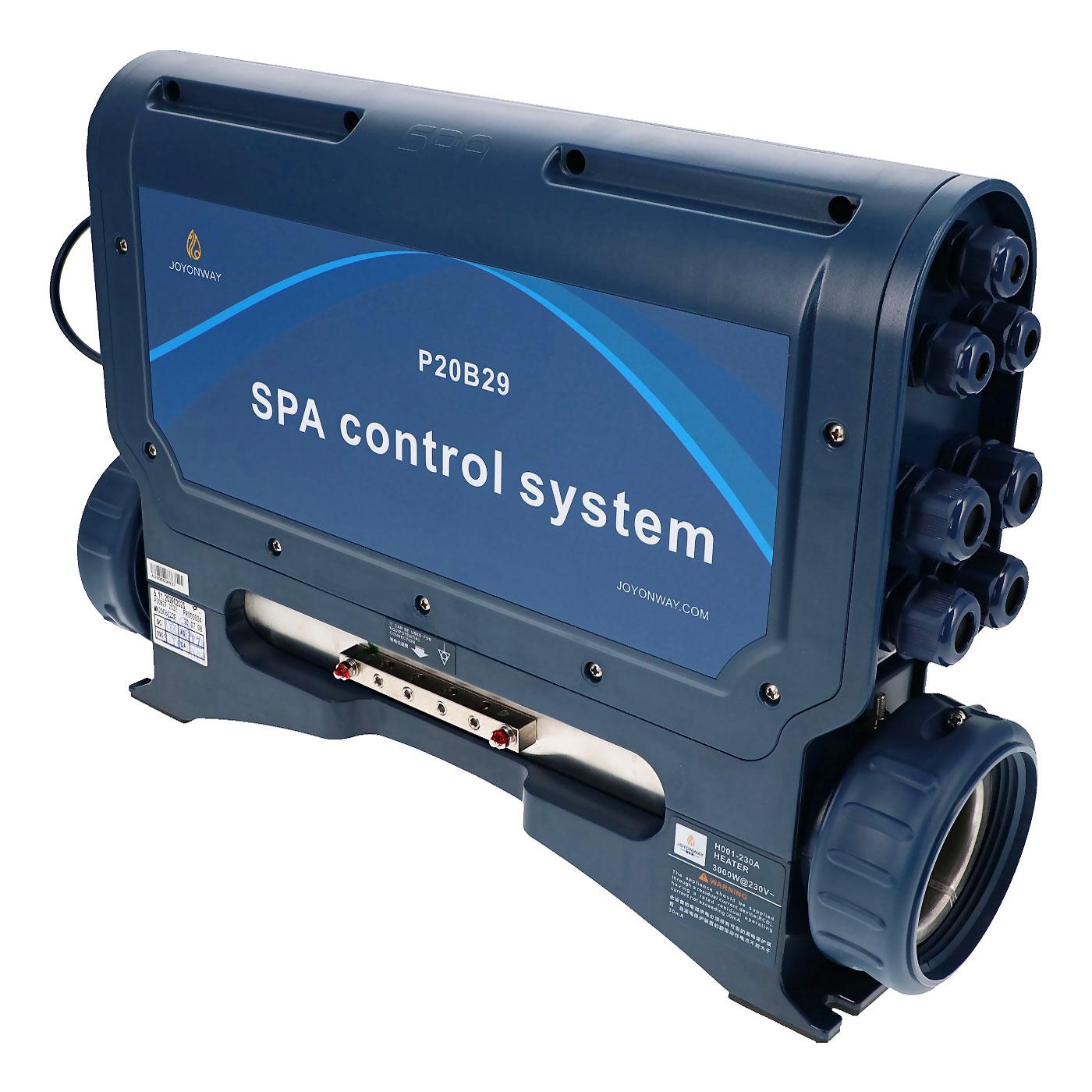 Boitier de contrôle P20B29 avec réchauffeur pour spa