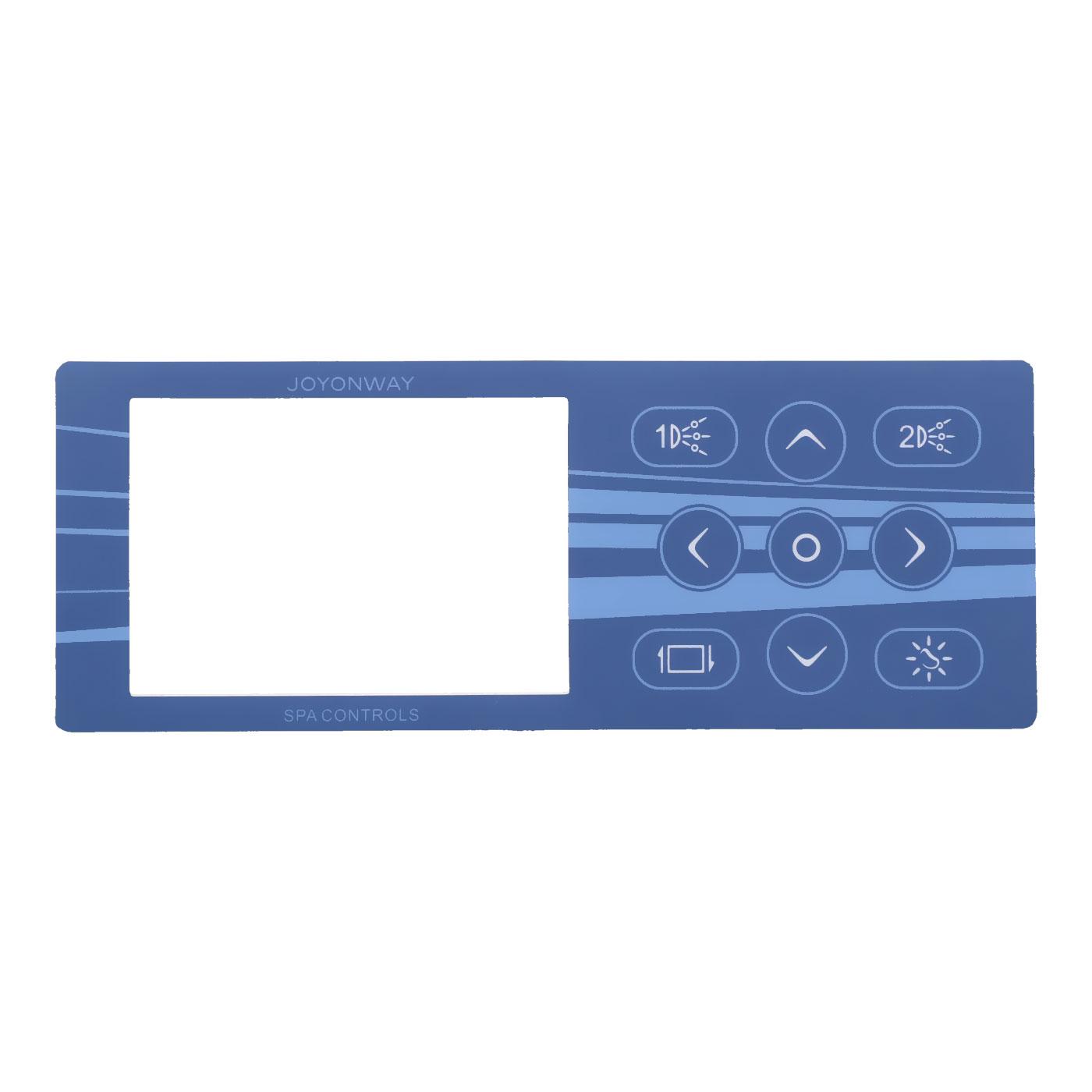 Autocollant pour clavier PB555