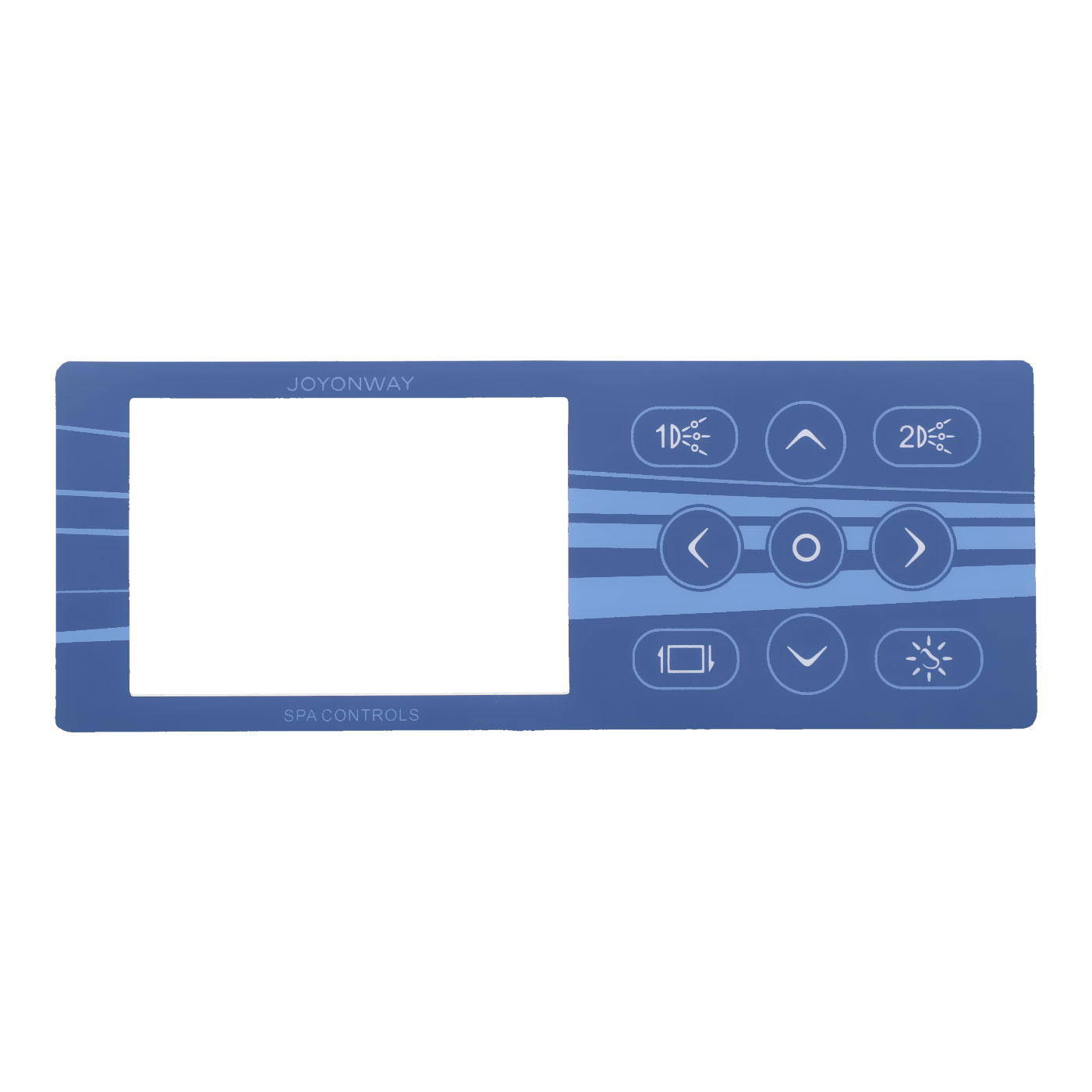 Overlay for PB555 Control Panel