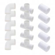 "1.5"" tubing kit for spa (5 elbows + 5 tees + 5 sleeves)"