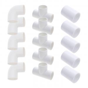 """2"""" pipe kit - 15 fittings (5 elbows + 5 tees + 5 sleeves)"""