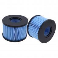Lot de 2 filtres spa compatible INTEX S1 BlueWater