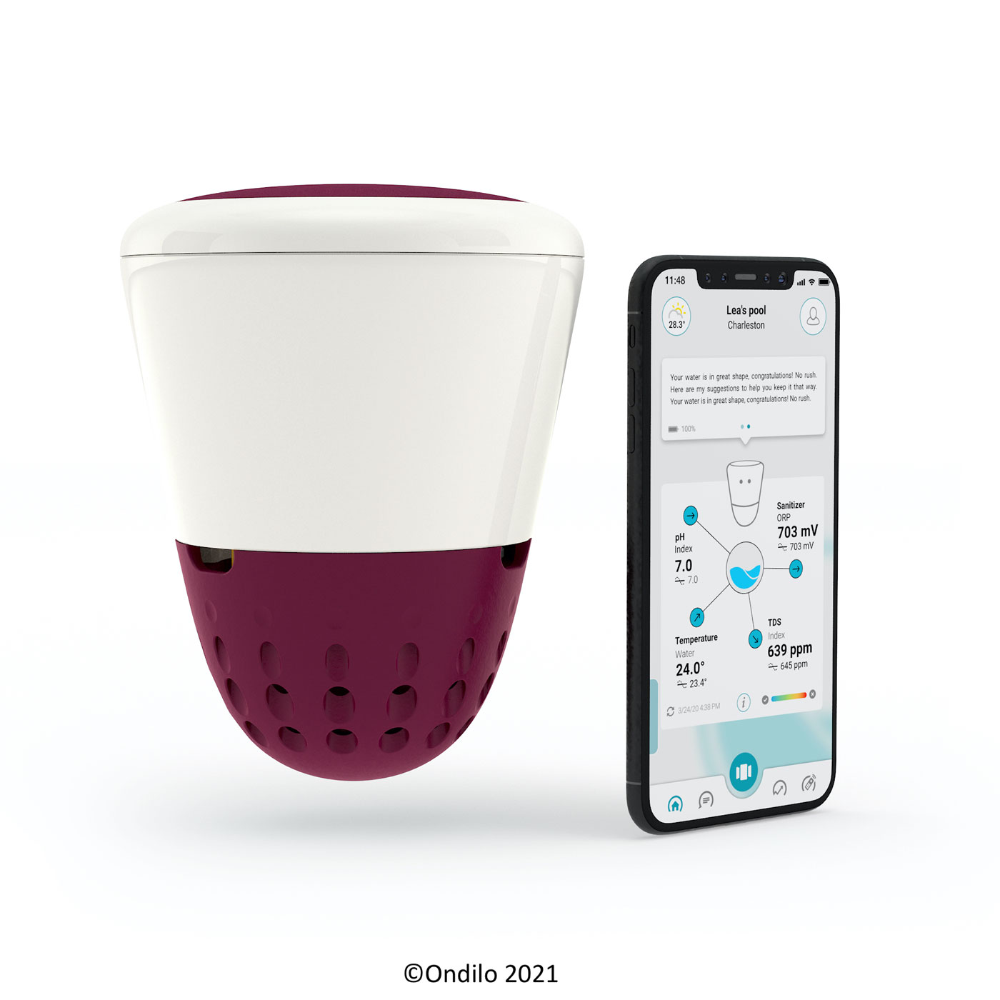 ICO SPA - Connected device for your spa water