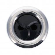 """Jet complet 5"""" - Twin Roto - INOX / ABS Noir"""