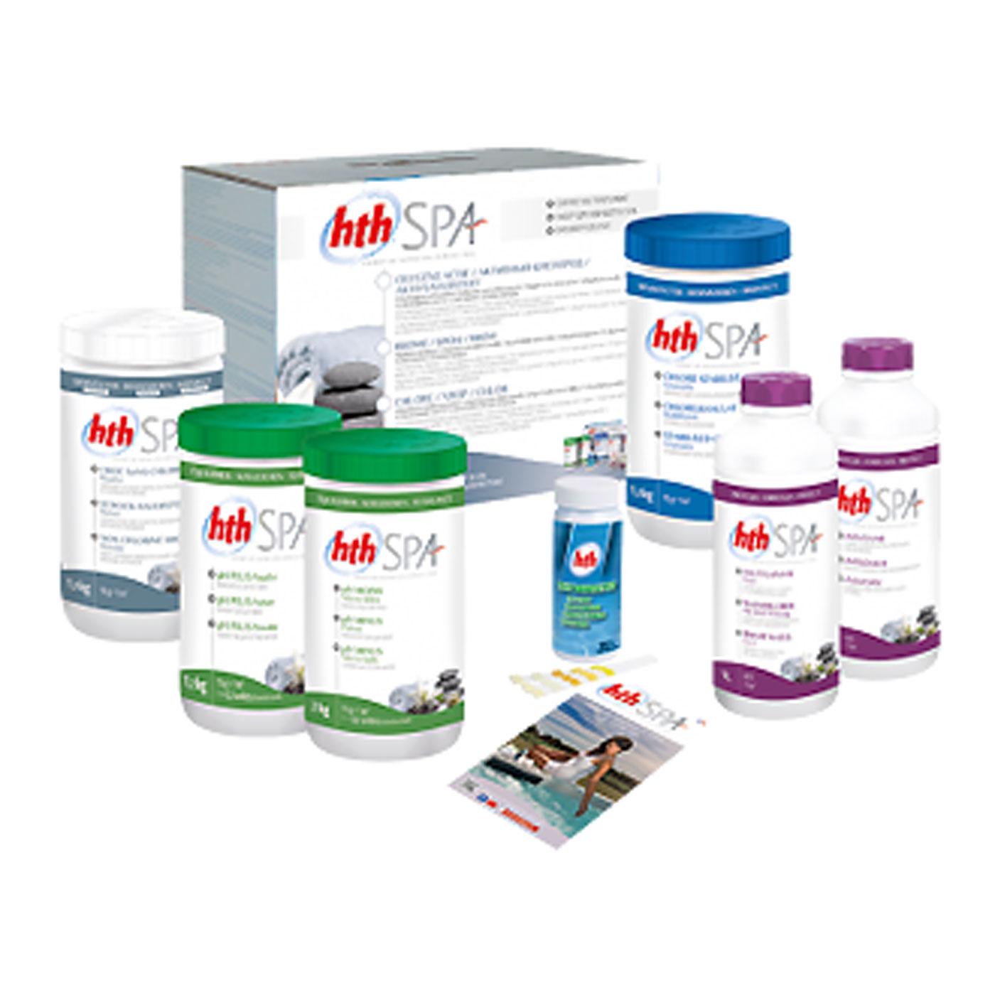 HTH Spa Chlorine Treatment Pack