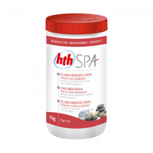 HTH Spa Flash Disinfection