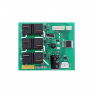 Motherboard for inflatable spa motor unit