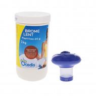 Kit de traitement Ocedis brome Lent + Diffuseur flottant