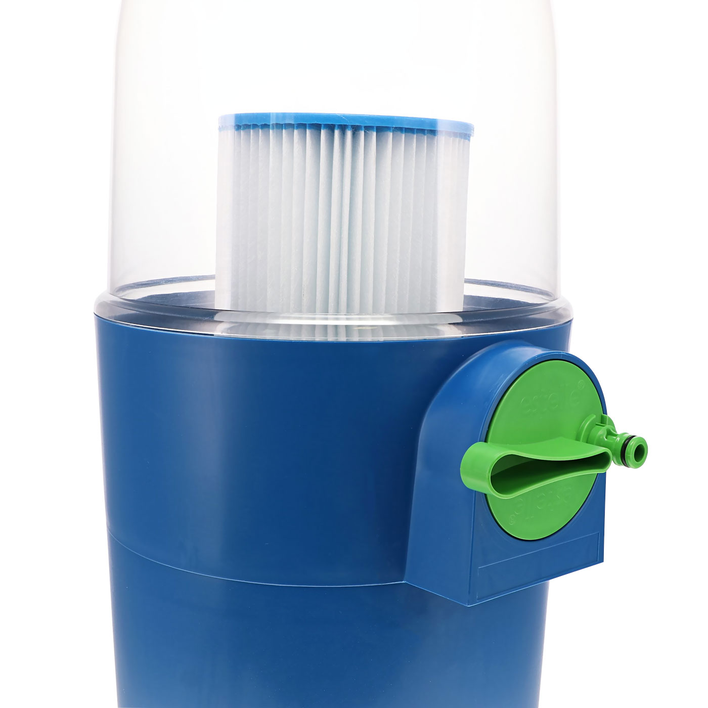 Automatic cleaning system for spa filter