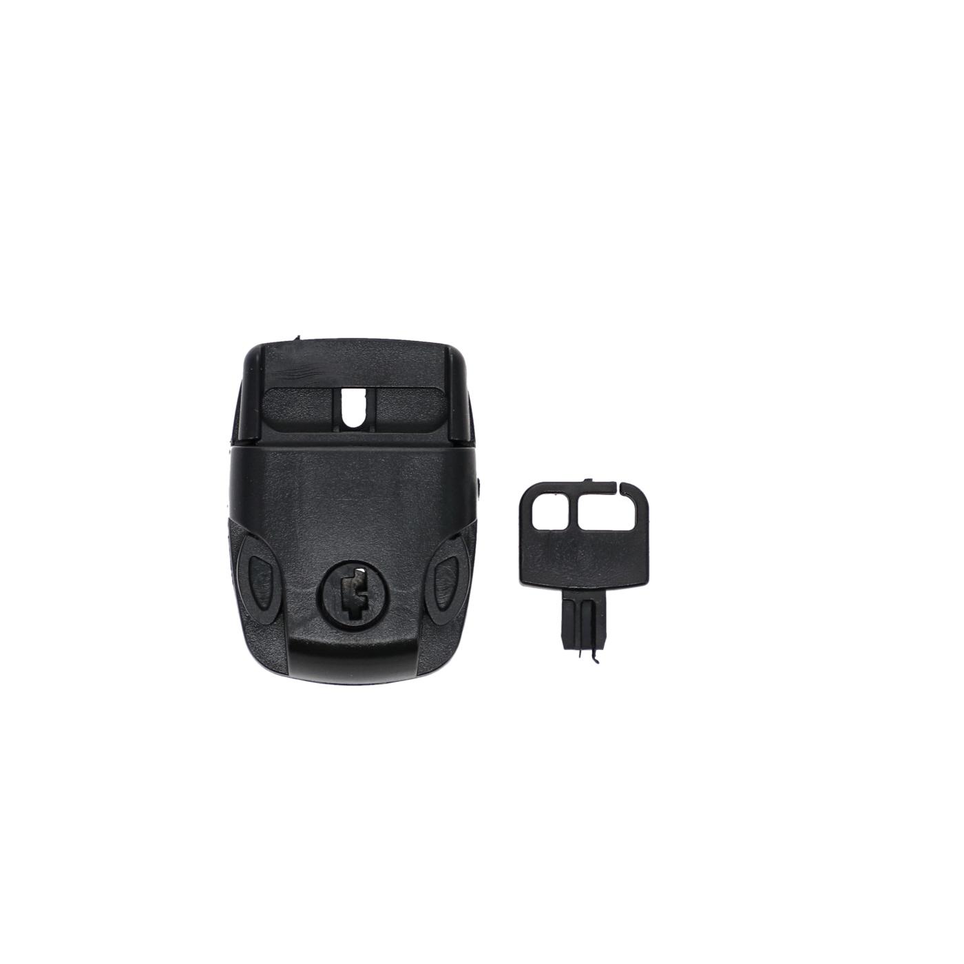 Key locks for spa cover