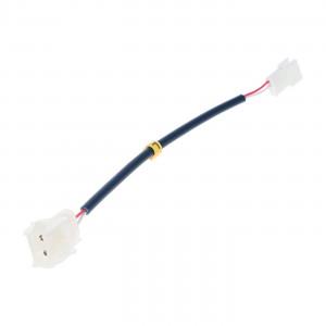 Adapter for 12V LED lighting - 2 Wires (Female AMP plug)