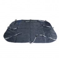 Clip-on floor mat for MSPA LS04 inflatable spa - Gray