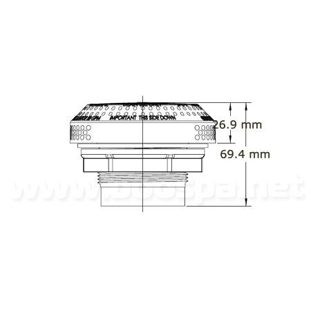 Hi-Flo 640-3250V Suction Fitting