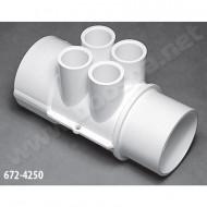 2'' M/F Manifold – 4 Ports ½'' F - Ref 672-4250
