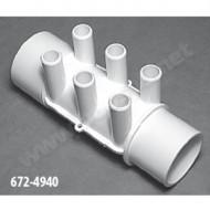 2'' F/M Manifold – 6 Ports ¾'' M - Ref 672-4940