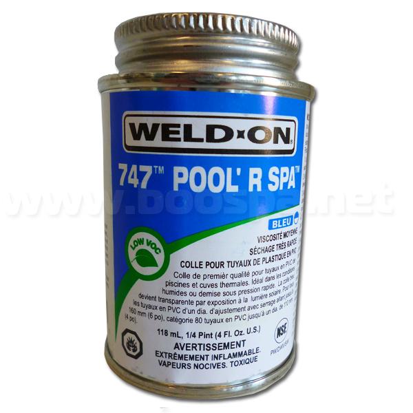 Weld'on Blue PVC Glue 118mL
