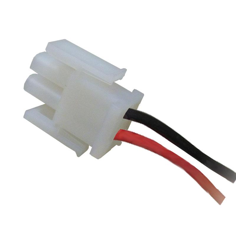 2 Pin AMP Male Plug