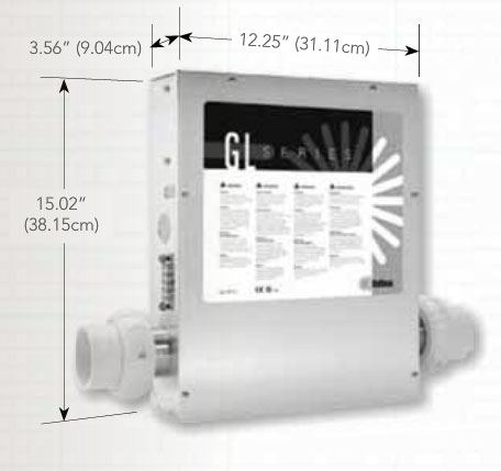 Electronic Control Box + GL8000 M3 Heater