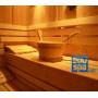 Seau bois + louche pour sauna