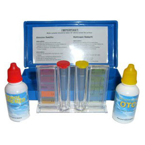 Water Analysis Case for Spa Chlorine/Bromine/pH