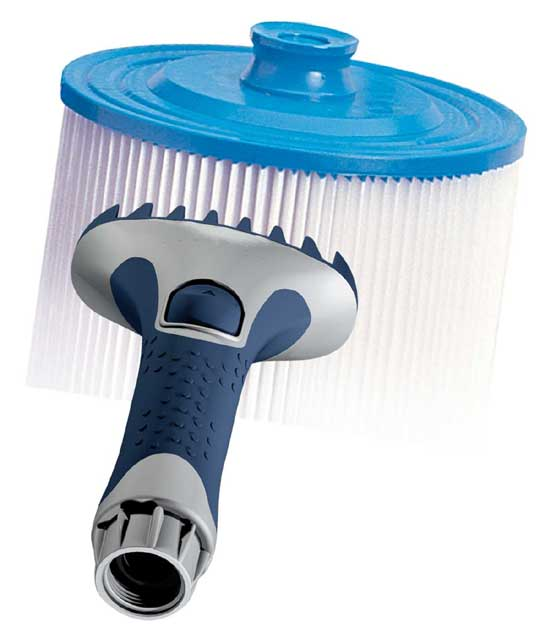 Brosse de nettoyage filtre spa