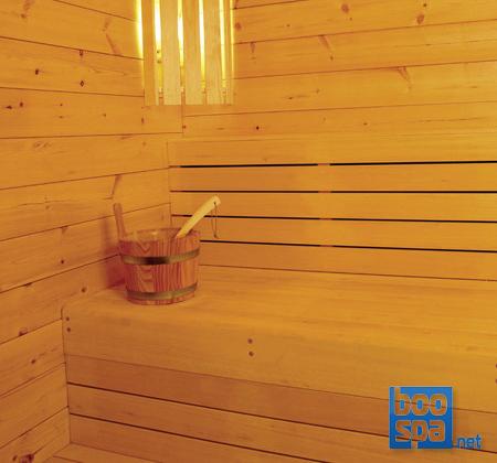 Applique murale d'angle pour lampe de sauna