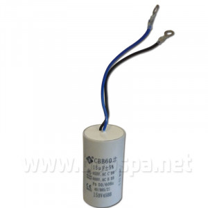 15 µF Pre-wired Capacitor