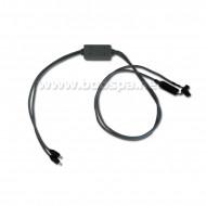 Câble connecteur + 2 LED