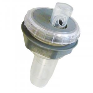 Grey ABS Circular LED Fountain