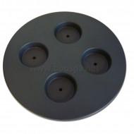 Porte verre circulaire pour Spa