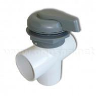 Inverseur de pompe 2'' Gris / ABS - L-2003