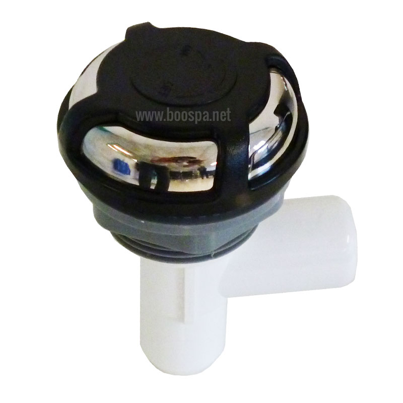 Waterfall Flow-Control Valve Stainless Steel/ABS/Bicolor