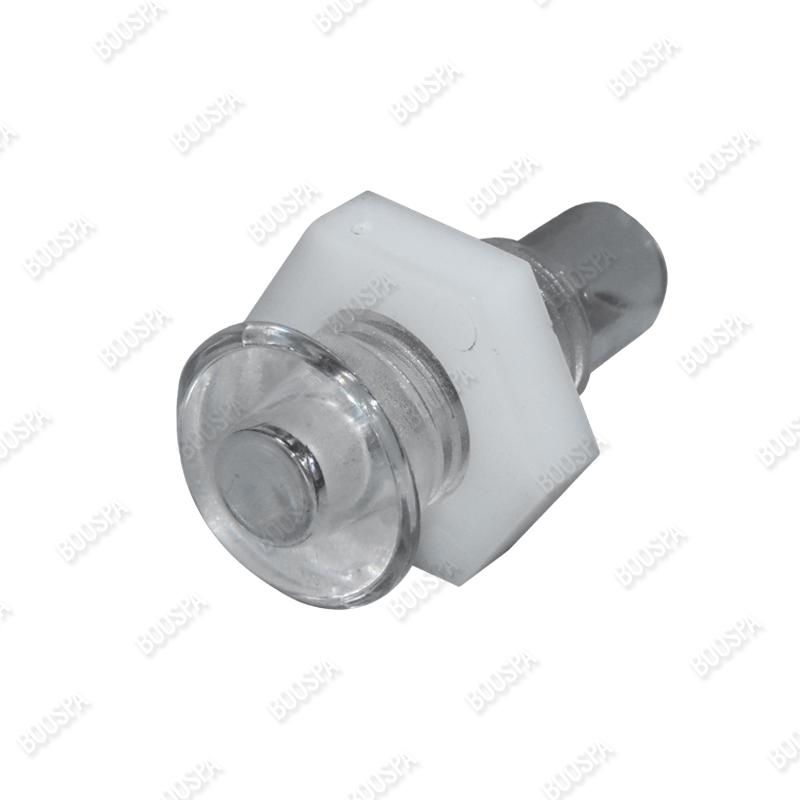Traversée pour LED périphérique