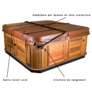Cover Lock : Système de verrouillage couverture de spa