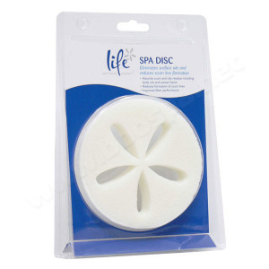 Froth Absorbing Disc Spa Cleaner