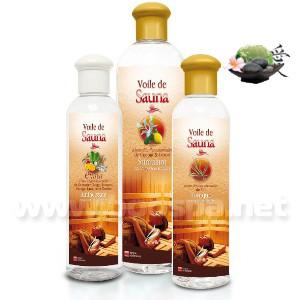 Voile de sauna Asie - Huiles essentielles sauna