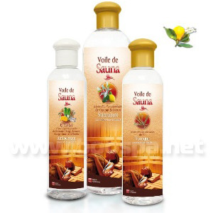 Voile de sauna Cajeput Citron - Huiles essentielles sauna