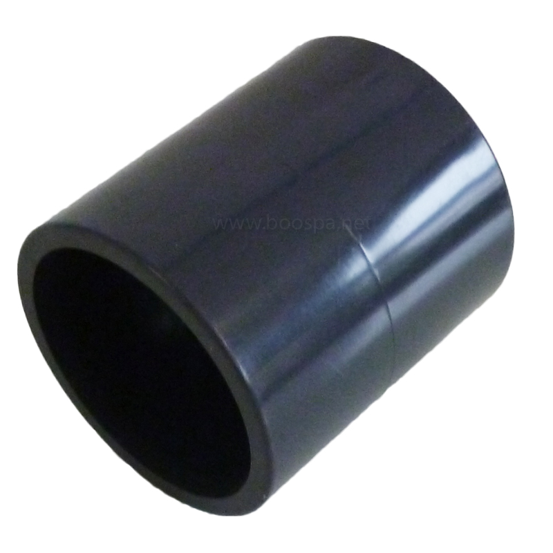 PVC 50mm Straight Connector for Spa Pipe
