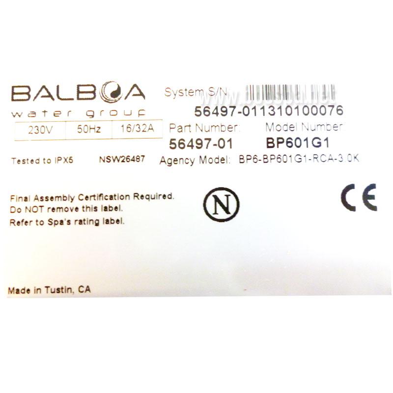 BP601G1 Electronic Control Box + Heater