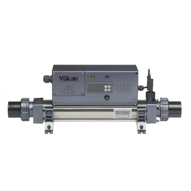 Vulcan Heater with Analog or Digital Thermoregulator