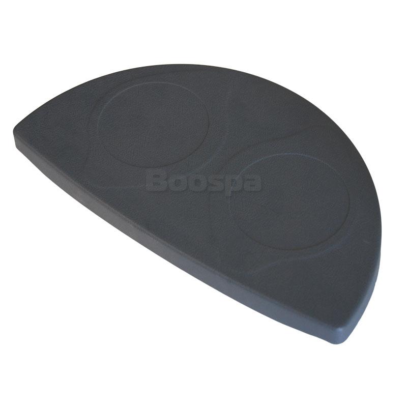 Grey ABS Glass Holder